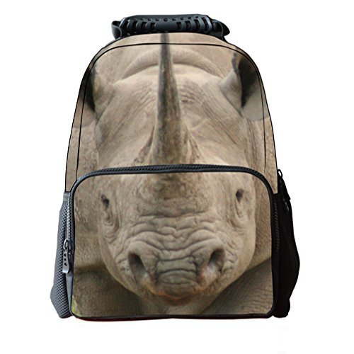fantec-felt-fabric-school-backpack-bags-3d-animal-print-cute-hiking-laptop-daypacks-rhinoceros-16
