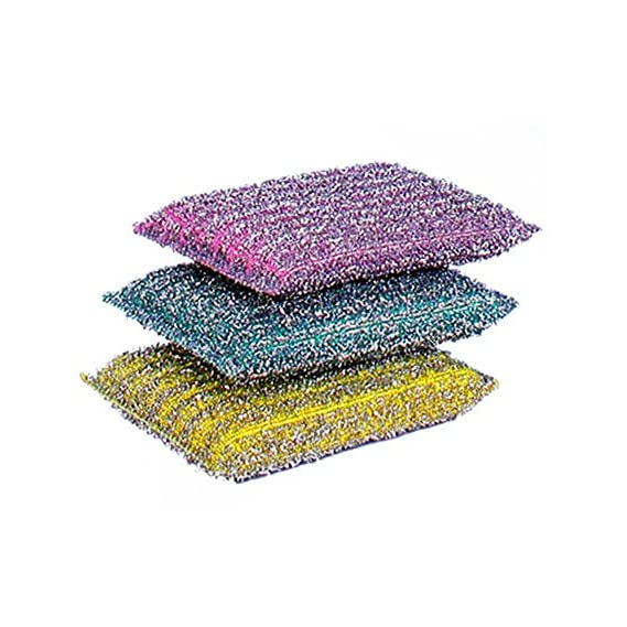 NinjaClean Scratch Proof Kitchen Scrubber Pads Pack of 6 / Scrubbing Pads / Utensil Scrubber / Kitchen Scrubber