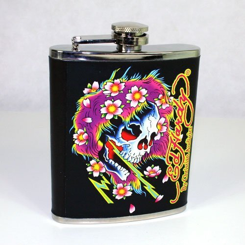 Ed Hardy Beautiful Ghost (Ed Hardy Beautiful Ghost Black Leather Flask by Ed Hardy)