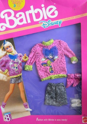Barbie Disney Character Damen W Minnie Mouse (1989)