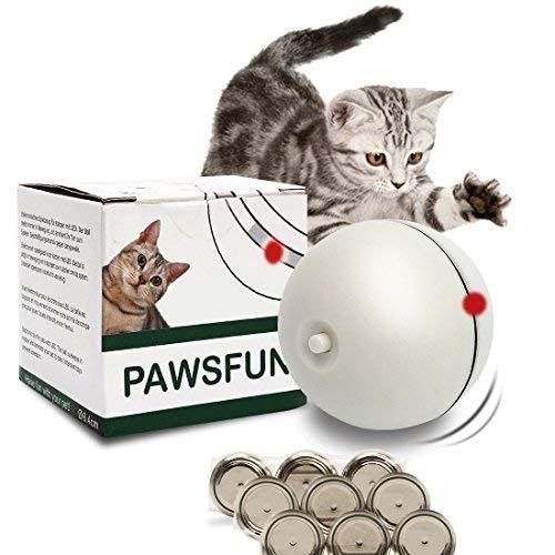 Pawsfun Giocattoli Per Gatto Palle Gioco Per Gatti Interattiva
