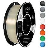 Filament PLA 1.75mm, Eryone PLA Filament 1.75mm, 3D Drucken Filament PLA for 3D Drucker, 1kg 1 Spool, Transparent