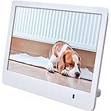 Rollei Pissarro DPF-86 - Digitaler Multi-Media Bilderrahmen mit 8.0 Zoll (20,3 cm) TFT-LED HD Panel, Uhrzeitanzeige, Kalenderfunktion, Diashow und Dreh-Funktion, inkl. Fernbedienung - Weiß