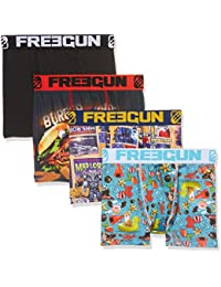 Freegun X4, Boxer Garçon, (lot de 4)