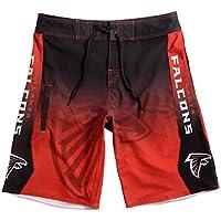 Klew NFL Atlanta Falcons Farbverlauf Board Shorts