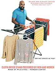 Celebrations Fast Dry - Sturdy and Sleek Cloth Dryer Stand for Drying All Kinds of Indian attires