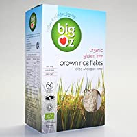 Big Oz | Organic Brown Rice Flakes | 5 x 500g