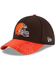 New Era NFL Sideline 39THIRTY Cap CLEBRO OTC–Linie Cleveland Browns für Herren, Braun, Herren, Nfl Sideline 39Thirty Clebro Otc