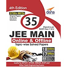 35 JEE Main Online & Offline Physics, Chemistry & Mathematics Topic-wise Solved Papers
