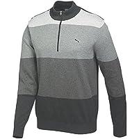 Puma Golf Mens GoTime 1/4 Zip Cotton Sweater
