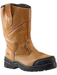 Sitio grava supertouch botas de seguridad marrón tamaño 7