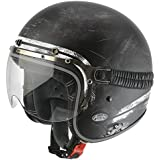 Airoh carbone Garage Raw Matt XL Casque Jet