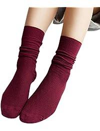 2019 Calcetines De Punto Suaves De Algodón Para Mujer De Moda Para Mujer Calcetines De Punto