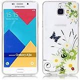 Galaxy A3 (2016) Coque, SATURCASE Transparent Ultra Mince Flexible Doux TPU Gel Silicone Housse Étui Coque Pour Samsung Galaxy A3 (2016) SM-A310F (Seulement pour A3 2016 édition) (Color-11)
