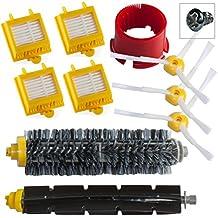 Reposición Pack Cepillos Kit para iRobot Roomba 700 Serie - Kit de mantenimiento con filtros y cepillos 760 770 780 790 comercializado por SchwabMarken