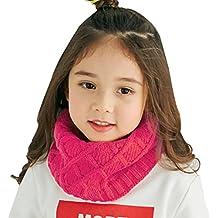 Snood Enfant Écharpe Tube Enfant Tour de Cou Enfant Fille Garçon Écharpe  Tricotée Hiver Écharpe Chaude 09a0c5d334c
