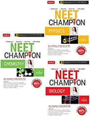 NEET Champion : Set of 3 Books (Physics,Chemistry and Biology for NEET 2020)