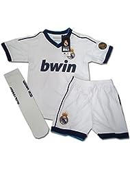 Equipación Completa Infantil Oficial Ronaldo Nº 7 del Real Madrid (Talla 4)