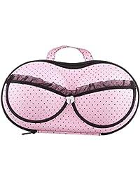 VivReal Boîte de Rangement Organisateur Sac de Soutien-gorge Sous-vêtements ROSE