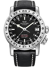 GLYCINE AIRMAN 17 relojes hombre 3917.19-66 LB9B