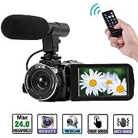 YinFun Camcorder Full HD 1080P Digital Camera Wifi Ir Night Vision Function Vlogging Camera Video Camera
