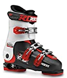 Roces Idea, Scarponi da Sci Unisex Bambini, Black/White/Red, MP 22.5-25.5
