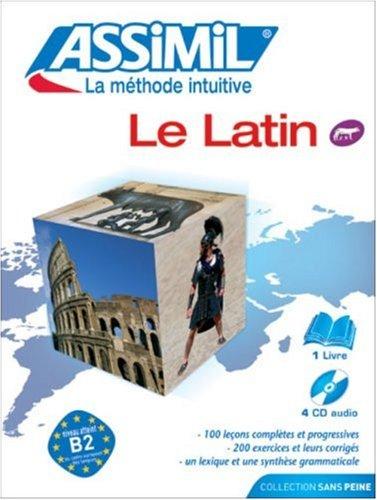 Le Latin ; Livre + CD Audio (x4)