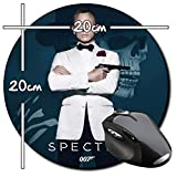 James Bond 007 Spectre Daniel Craig Tapis De Souris Ronde Round Mousepad PC