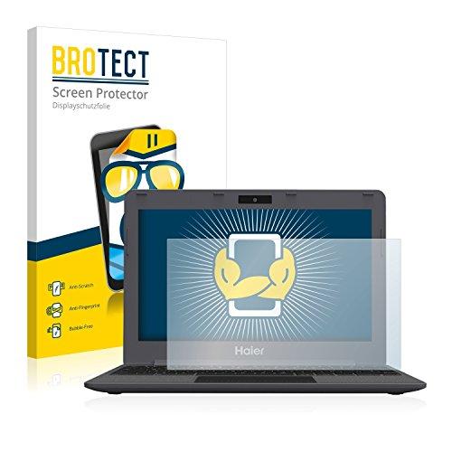 BROTECT Schutzfolie kompatibel mit Haier Chromebook 11 [2er Pack] klare Bildschirmschutz-Folie