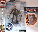 Diamond Select Toys Marvel Select: Avengers Age of Ultron: Black Widow Action Figure Bundle includes Team Iron...