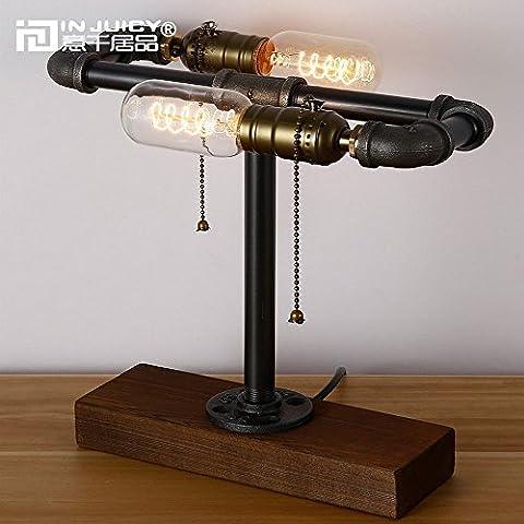 Injuicy Eclairage Loft Rétro E27 Edison Vintage Industriel Socle en