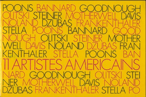 11 Artistes Americains