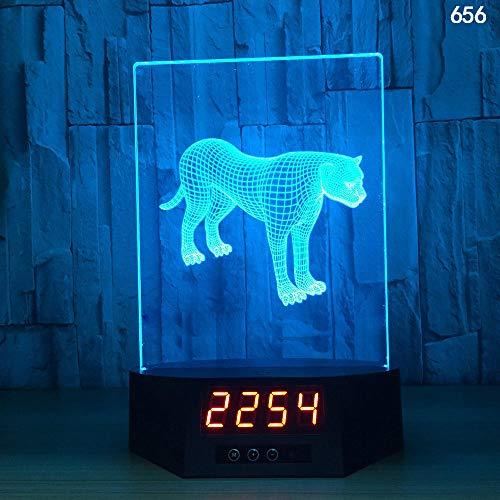 3D Illusion Lampe Nachtlicht optische Lampe Schreibtischlampe Kreative Smart-Home-Touch-Sensor-Nachtlicht-USB-Tischlampe der Induktion 3D, 656, bunt, Fernbedienung, Note - Smart Sensor Basketball Der