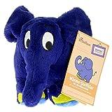 Warmies® blauer Elefant: Stofftier mit Lavendel-Füllung