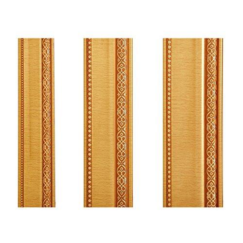 Zierleiste Zierprofile Flachleiste Deckenleiste Decke Bordüre Stoßfest Geprägt 10 cm