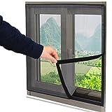 Fenster-screening,Mesh-tür vorhang,Mit langlebigen fiberglas mesh,Blackout vorhänge tür Stoppen sie den wind und staub Verhindern, dass sonnenlicht Für Schiebetüren Balkontür Schlafzimmer-A 80x100cm(31x39inch)