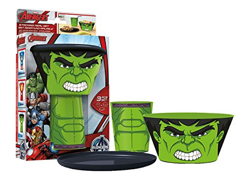 Boyz Toys Stacking Meal Set - Hulk (AVENGERS)