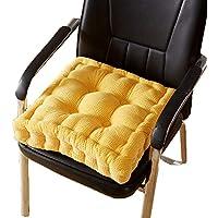 JianMeiHome Kissen Stuhlkissen Sitzkissen Tatami Matte Thicken Büro Kissen Hause Esszimmer Stuhl Kissen Tatami Matte gelb (Size : 40 * 40 * 10cm) preisvergleich bei kinderzimmerdekopreise.eu