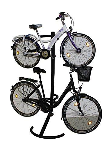 Fahrradständer Fahrradhalter Fahrradwandhalter Fahrrad Halter Ständer für 2 Fahrräder