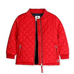Cherry Crumble Quirky Quilted Jacket For Boys