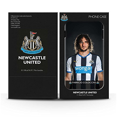 Officiel Newcastle United FC Coque / Clipser Brillant Etui pour Apple iPhone 6S+/Plus / Pack 25pcs Design / NUFC Joueur Football 15/16 Collection Coloccini