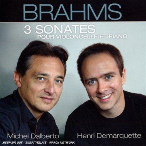 BRAHMS - 3 sonates pour violoncelle et piano