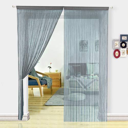 HSYLYM cortina espagueti para Puerta
