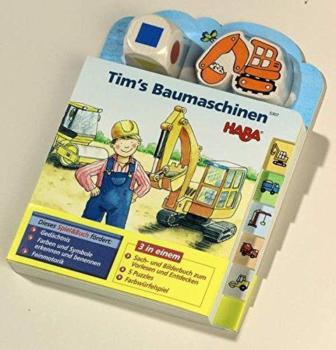 Preisvergleich Produktbild Tim's Baumaschinen (Spiel & Buch)