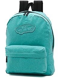 Vans Realm Backpack Mochila, 42cm, 22L, Pool azul