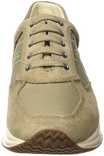 Geox U Happy Art. G, Sneakers Basses Homme Beige (Sand)