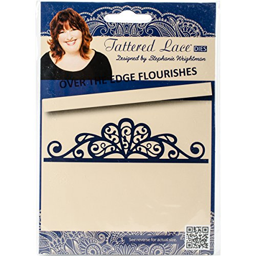 Tattered Lace Metal Die Over The Edge Flourishes