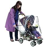 Nuby Deluxe Stroller Weather Shield