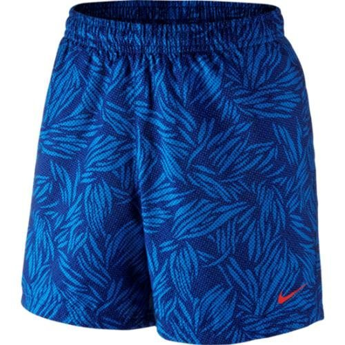 Nike Flow SRT-14CM TRP STRM Short pour homme Azul (Deep Royal Blue / Lt Crimson)
