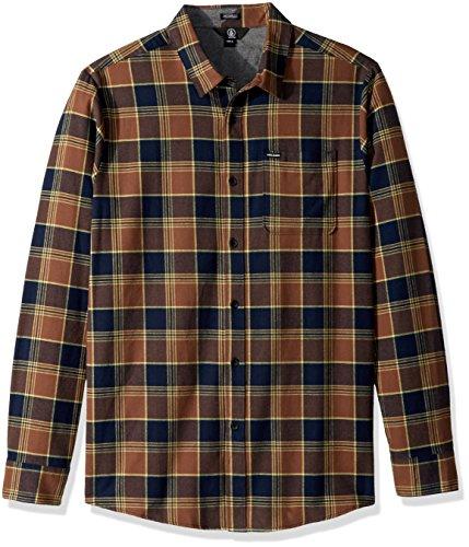 Herren Hemd lang Volcom Caden Hemd Indigo